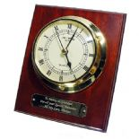 Clock Marine Style Wall Mounted, Personalised, ref MC01